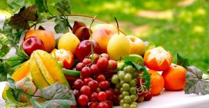 fruits jardin