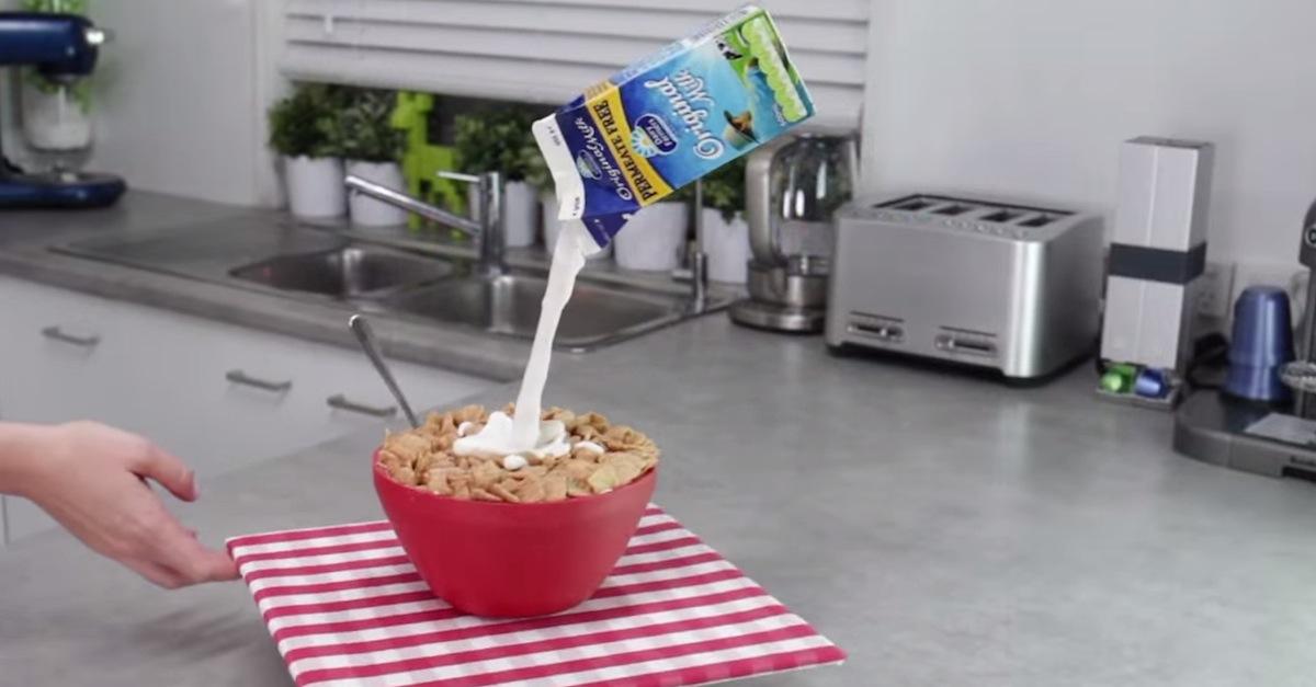 Çà ressemble à un bol de céréales, mais quand vous regardez c'est une autre chose