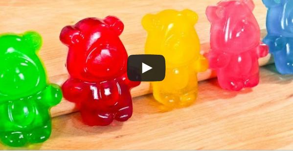 Comment préparer des oursons en gélatine