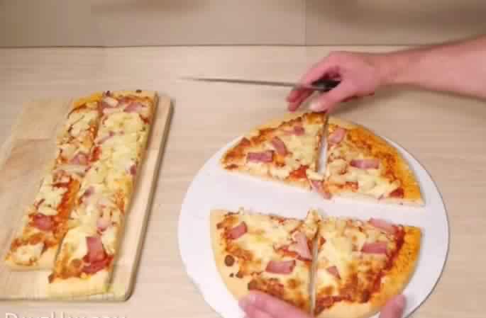Garder un morceau de pizza pour vos sans changer sa forme une id e g niale c 39 est fait maison - Pizza maison idee ...
