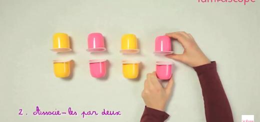 Pot de yaourts for Arbalete fait maison puissante
