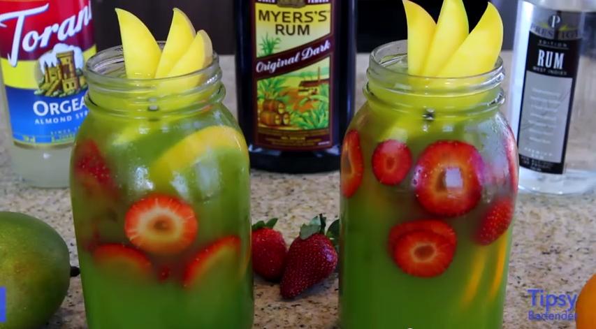 Comment préparer un délicieux Mai Tai à la mangue!