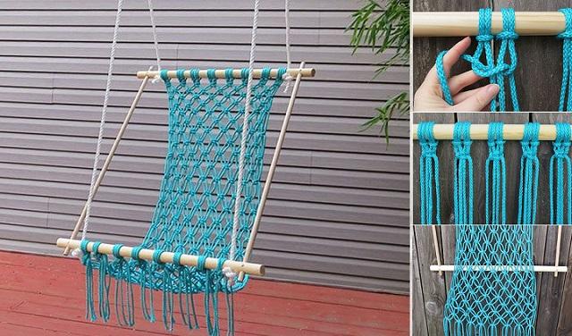 Voici comment fabriquer un joli hamac pour votre vu00e9randa - Cu0026#39;est fait ...