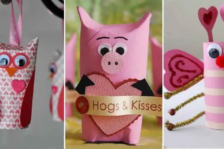 10 excellentes id es de bricolages pour enfants pour la - Idee activite saint valentin ...