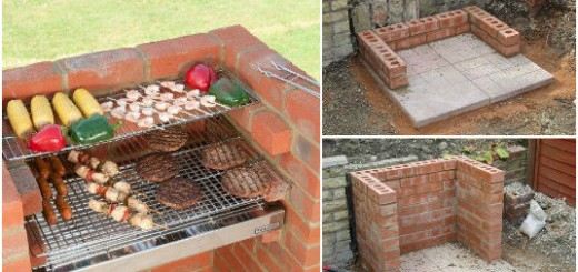 barbecue a fabriquer soi meme perfect barbecue exterieur. Black Bedroom Furniture Sets. Home Design Ideas