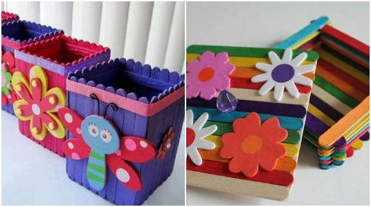9 id es de bricolage pour enfants faire avec des - Manualidades divertidas para ninos ...