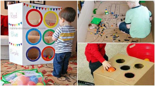15 idées pour faire les meilleurs jouets pour vos enfants avec des