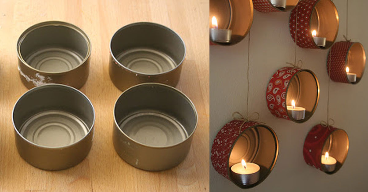 Crafts Using Tuna Cans
