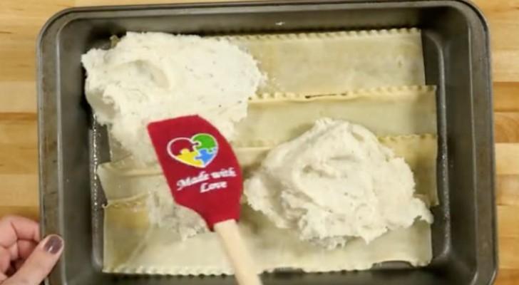 De la pur e sur une couche de lasagnes le r sultat un vrai d lice c 39 est fait maison - Faire une bonne puree maison ...