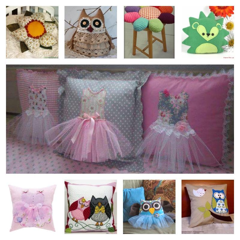 Des idées amusantes pour fabriquer de jolis de jolis oreillers personnalisés