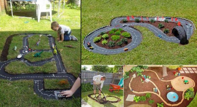Les enfants vont adorer ces pistes de course en plein air