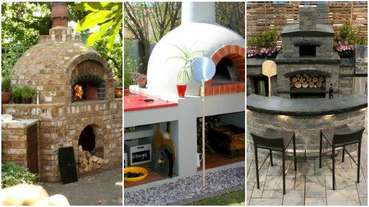 des id es g niales pour la conception d 39 un four au feu de bois dans votre jardin c 39 est fait. Black Bedroom Furniture Sets. Home Design Ideas