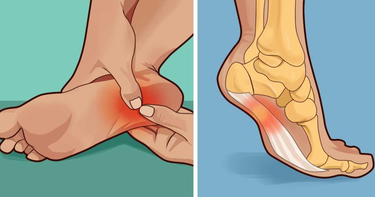 douleur dans le pied au reveil