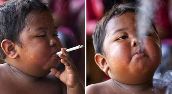 Vous vous rappelez de cet enfant devenu «célèbre» parce qu'il fumait 40 cigarettes par jour … La voici 10 ans après