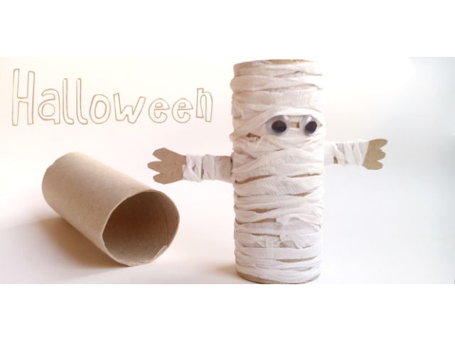 20 id es pour faire des bricolages pour halloween avec des rouleaux de papier toilette c 39 est. Black Bedroom Furniture Sets. Home Design Ideas