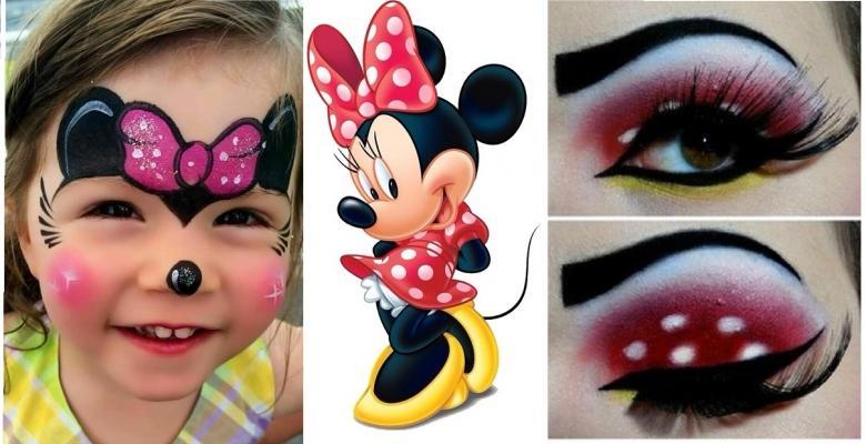 10 idées pour fêter Halloween avec un maquillage Minnie , C\u0027est fait maison  !