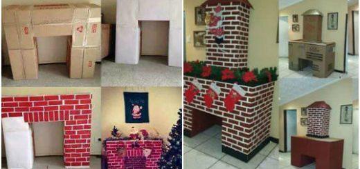 Bricolage pour enfants archives c 39 est fait maison for Decoration cheminee pour noel