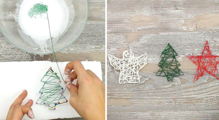 Pour d corer votre arbre de no l il suffit d 39 un fil et - Decorer sa maison pour noel ...