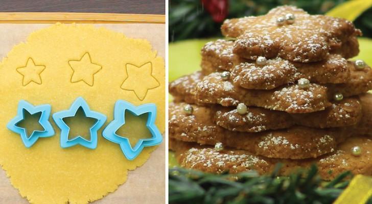 Des sablés en forme d'étoiles: le dessert parfait pour toutes les occasions