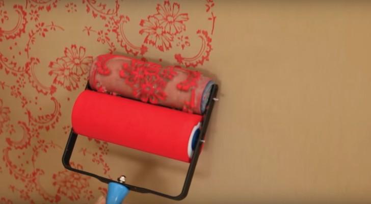 quand vous allez voir ce que vous pouvez r aliser avec ce rouleau de peinture vous voudriez l. Black Bedroom Furniture Sets. Home Design Ideas