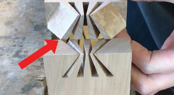 Assemblage en queue d'aronde : voici la technique japonaise à la précision millimétrique