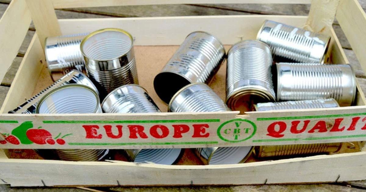 Ne jetez pas vos vieilles boîtes de conserve. Voici 10 bonnes façons de les réutiliser dans le jardin