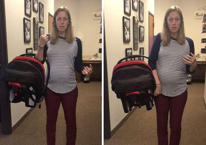 Nous portons les sièges d'auto pour bébés de la mauvaise façon, voici comment le faire correctement