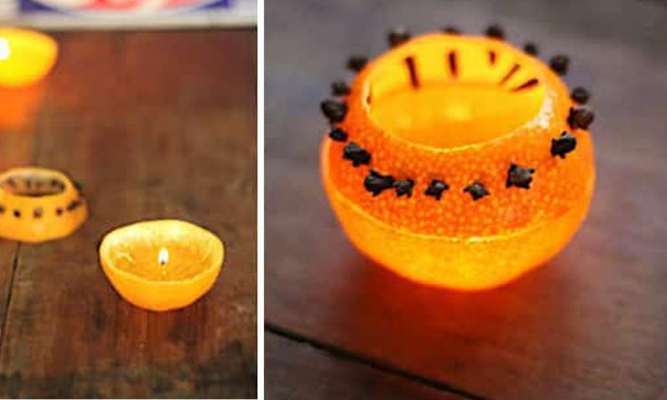 Cette bougie anti-moustiques est idéale pour décorer votre table en soirée