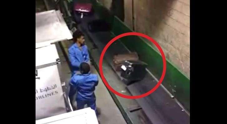Il filme en cachette des employés à l'aéroport : Voici comment nos valises sont traitées!