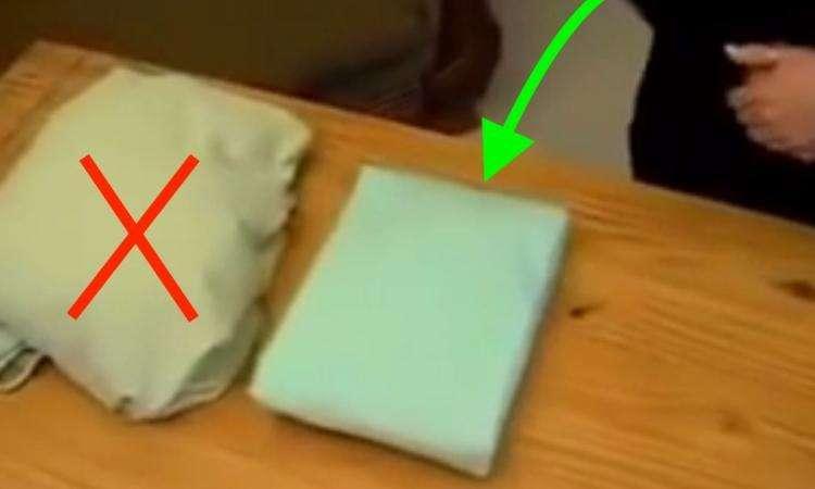 Voici comment plier parfaitement un drap en seulement 40 secondes