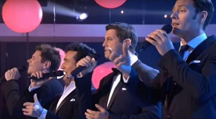4 Hommes chantent «I Will Always Love You»: une version très émouvante!