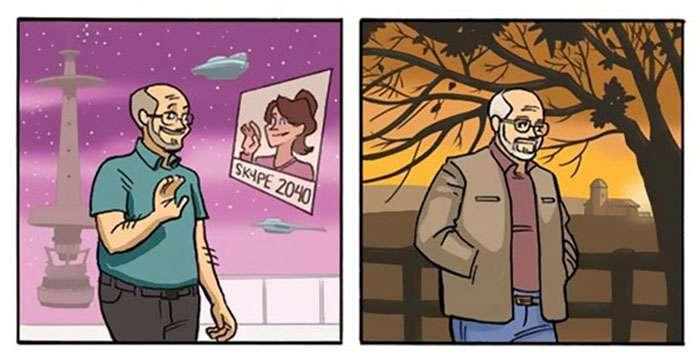 Cette bande dessinée sur le vieillissement changera votre perception de la vie