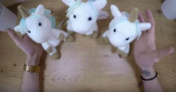 Licorne Crochet 2 Cest Fait Maison