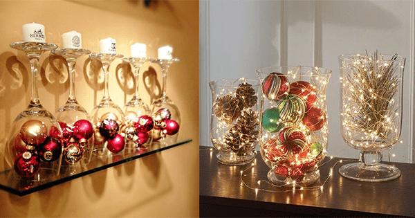 10 décorations de fêtes originales à faire avec les vieilles boules de Noël