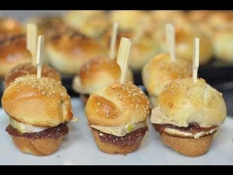 Mini Burgers maison Foie gras & Figues : une excellente idée pour un diner de Noël