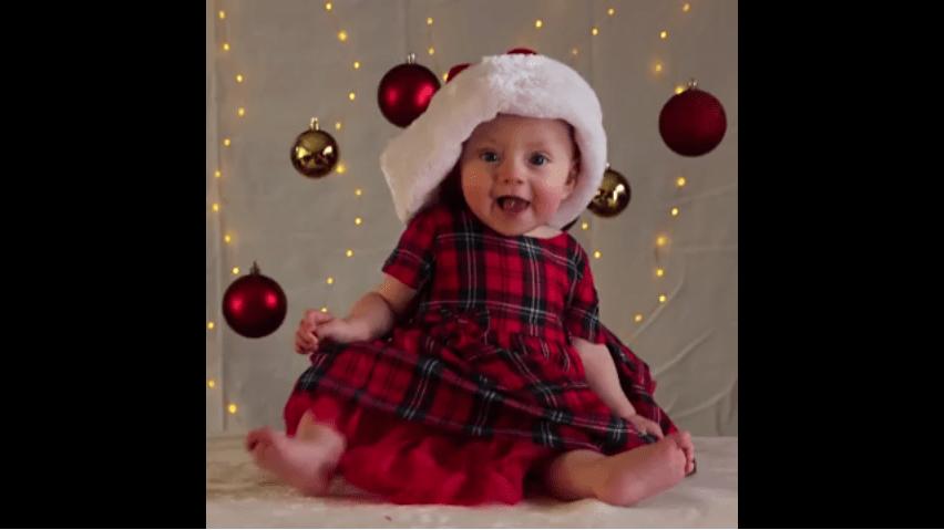 6 astuces pour prendre de belles photos de votre bébé pour Noël avec votre smartphone