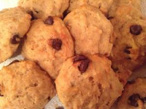 Biscuits blizzard de chocolat