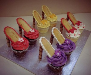 cupcake chaussures