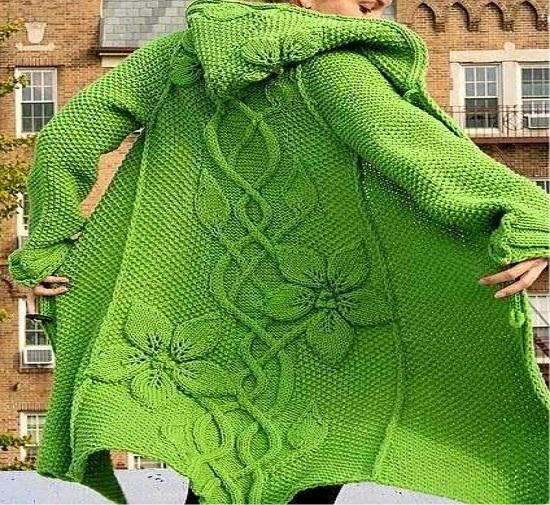 manteau crochet