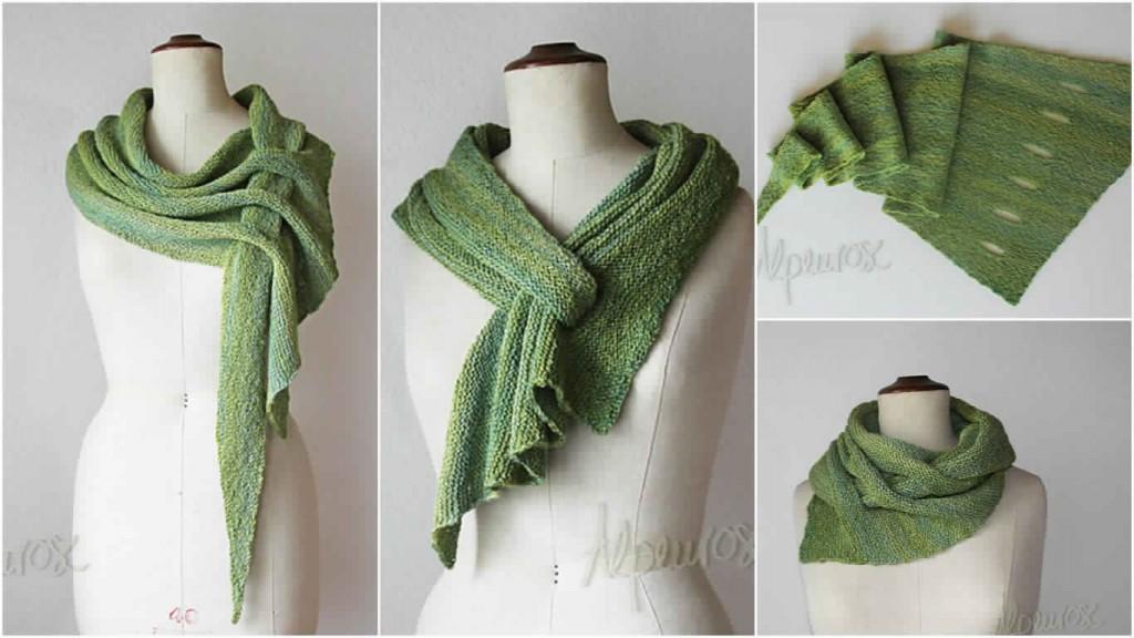 tricot vert