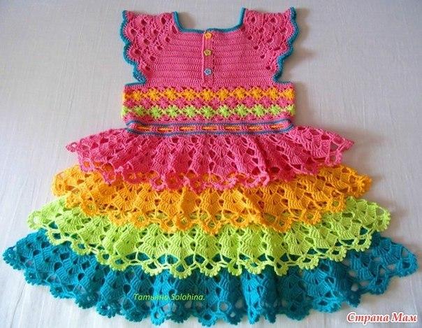 robe crochet 2